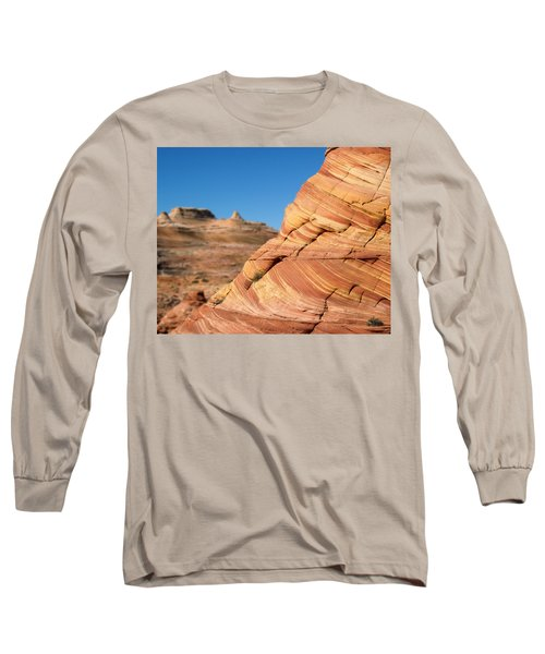'the Wave' North Coyote Buttes 13 Long Sleeve T-Shirt