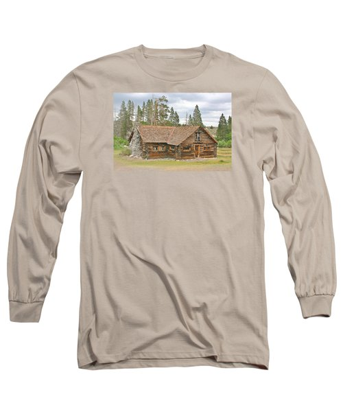 Long Sleeve T-Shirt featuring the photograph The Way It Was by Marilyn Diaz