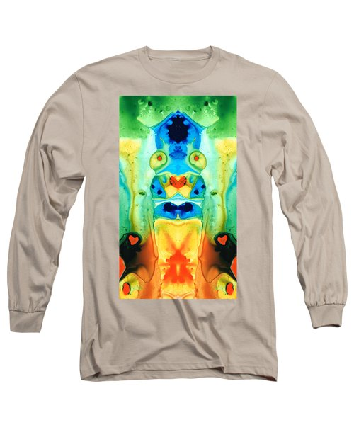 The Wedding - Abstract Art By Sharon Cummings Long Sleeve T-Shirt