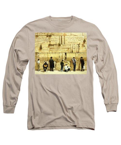 The Western Wall  Jerusalem Long Sleeve T-Shirt