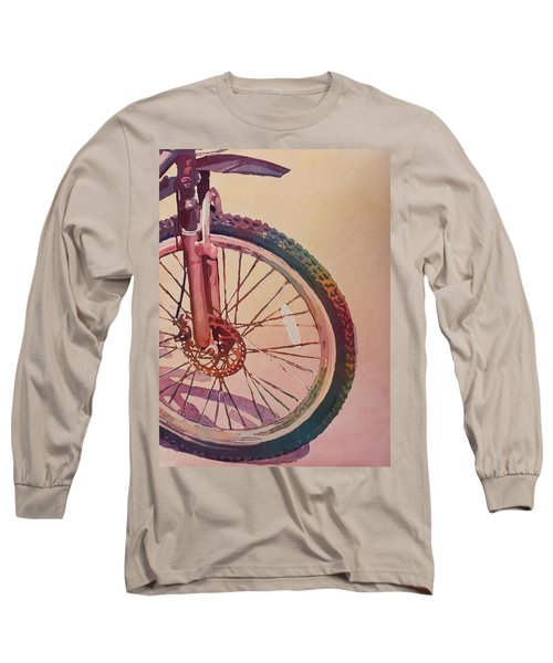 The Wheel In Color Long Sleeve T-Shirt
