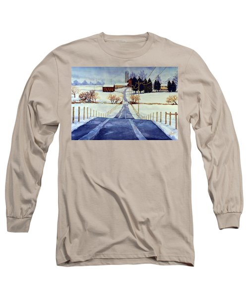 The White Season Long Sleeve T-Shirt