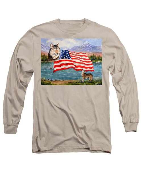 The Wildlife Freedom Collection 1 Long Sleeve T-Shirt