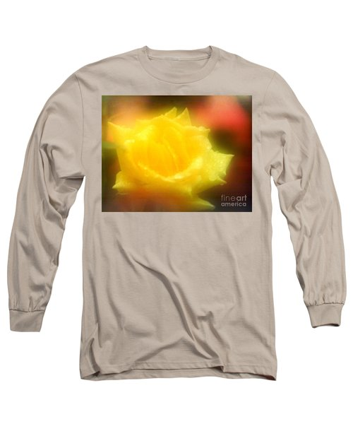 Long Sleeve T-Shirt featuring the photograph New Orleans  Yellow Rose Of Tralee by Michael Hoard