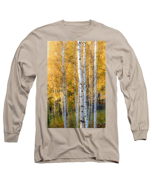 Thin Birches Long Sleeve T-Shirt