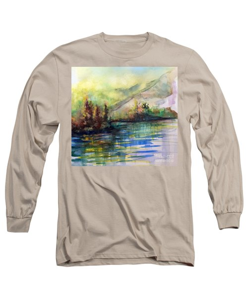 Long Sleeve T-Shirt featuring the painting Thinking Of Sargent by Allison Ashton