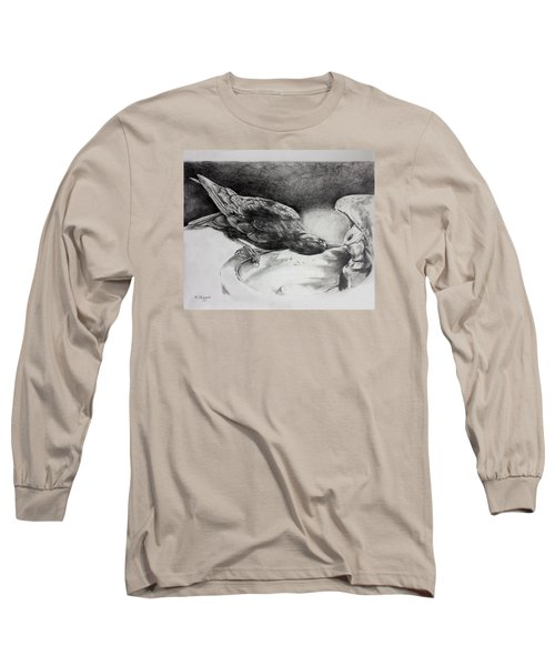 Thirsty Crow Long Sleeve T-Shirt