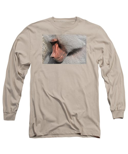 Long Sleeve T-Shirt featuring the photograph Thoughtful by Simona Ghidini