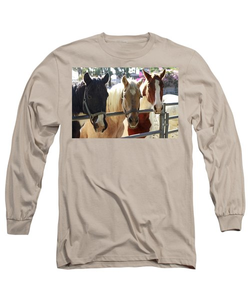 Three Amigos Long Sleeve T-Shirt by Shoal Hollingsworth