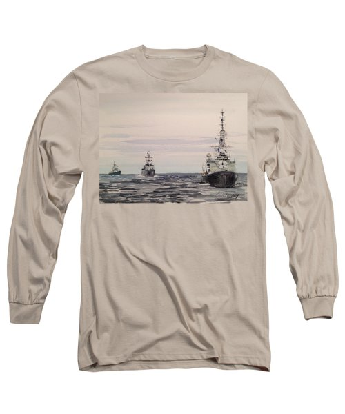 Three Bears Long Sleeve T-Shirt by Stan Tenney