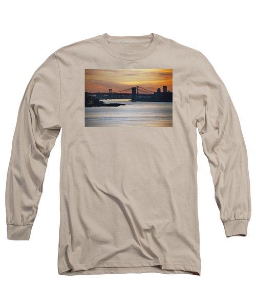 Three Bridges Long Sleeve T-Shirt by John Schneider