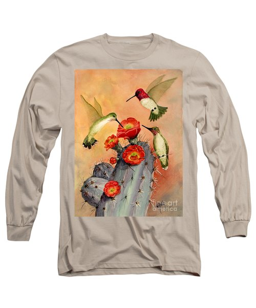 Three For Breakfast Long Sleeve T-Shirt