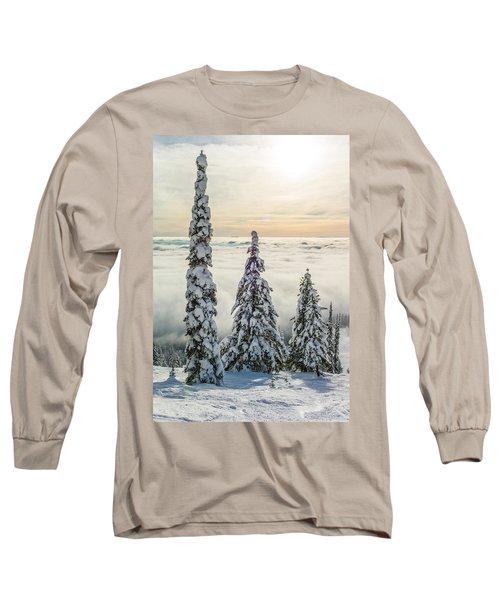 Three Wise Men Long Sleeve T-Shirt by Aaron Aldrich