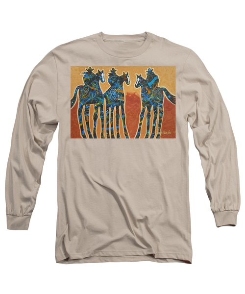 Three With Rope Long Sleeve T-Shirt