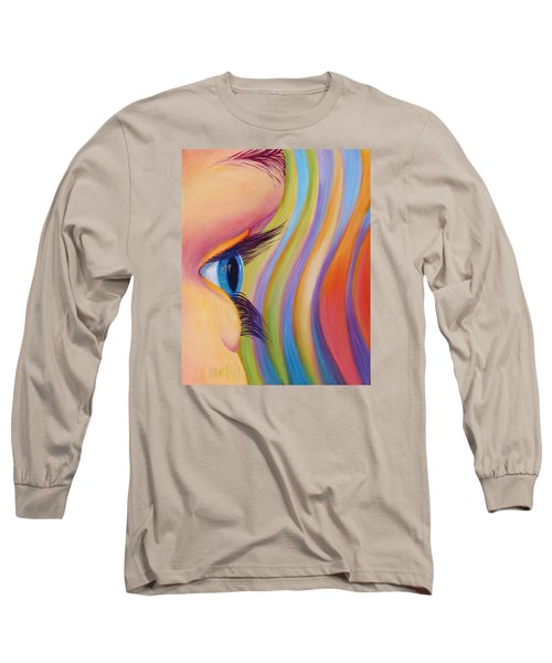 Through The Eyes Of A Child Long Sleeve T-Shirt by Sandi Whetzel