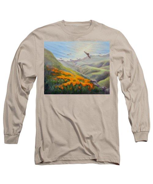 Through The Eyes Of The Condor Long Sleeve T-Shirt