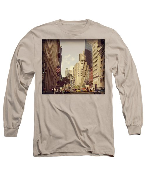 Through The Faded Looking Glass Long Sleeve T-Shirt