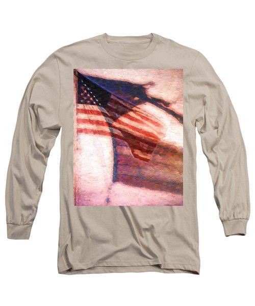 Through War And Peace Long Sleeve T-Shirt by Bob Orsillo