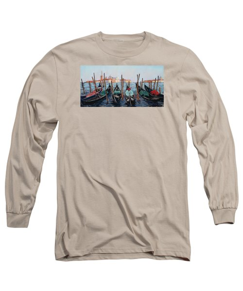 Tied Up In Venice Long Sleeve T-Shirt