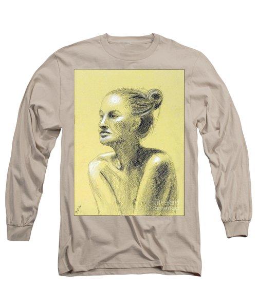 Tiffany Portrait Long Sleeve T-Shirt