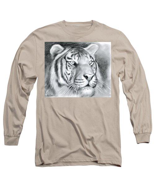 Tiger Long Sleeve T-Shirt by Greg Joens