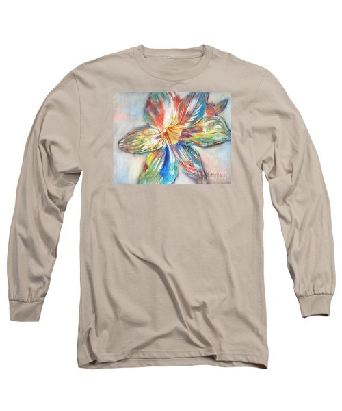 Tiger Lilly Long Sleeve T-Shirt by Mary Haley-Rocks