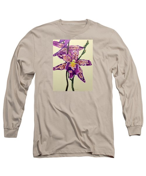 Tiger Orchid Long Sleeve T-Shirt