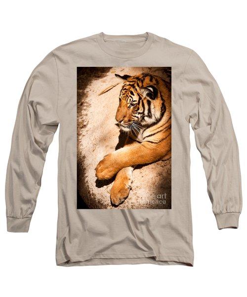Tiger Resting Long Sleeve T-Shirt