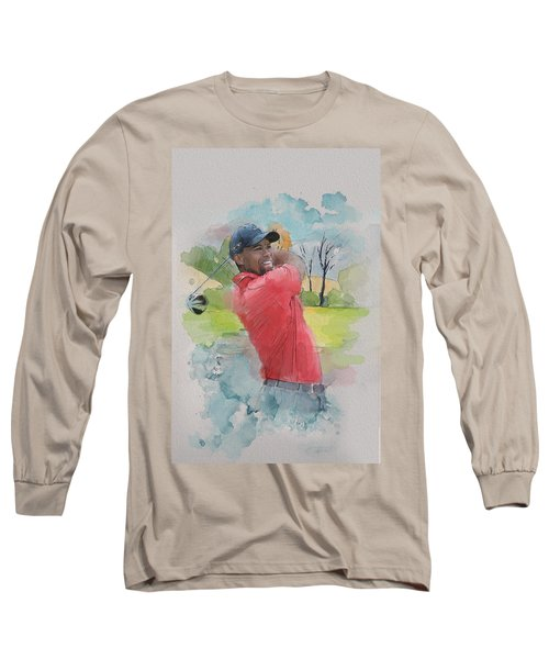 Tiger Woods Long Sleeve T-Shirt