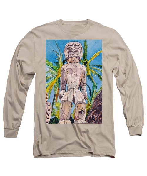Tiki Long Sleeve T-Shirt