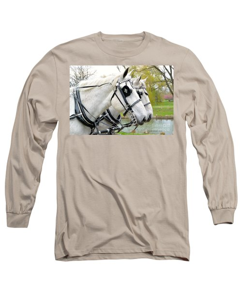 Tillie And Bruce #2 Long Sleeve T-Shirt