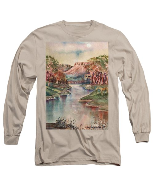 Timbercreek Canyon Dawn Long Sleeve T-Shirt by Joan Hartenstein