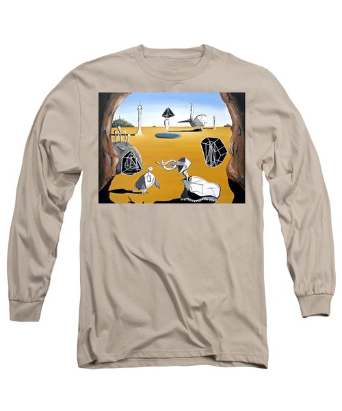 Time Travel Long Sleeve T-Shirt by Ryan Demaree