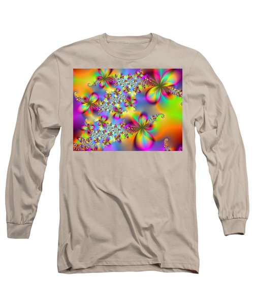 Long Sleeve T-Shirt featuring the digital art Timeless Elegance by Ester  Rogers