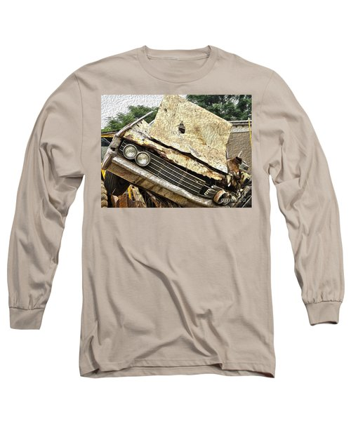 Tired And Broken Long Sleeve T-Shirt