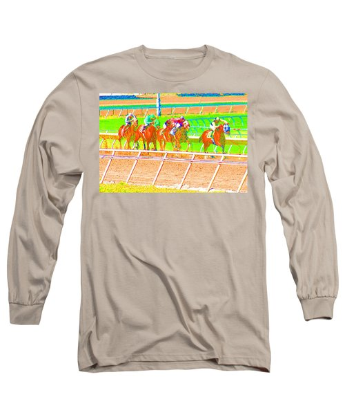 To The Finish Line Long Sleeve T-Shirt
