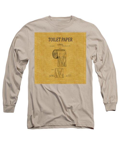 Toilet Paper Patent 1 Long Sleeve T-Shirt
