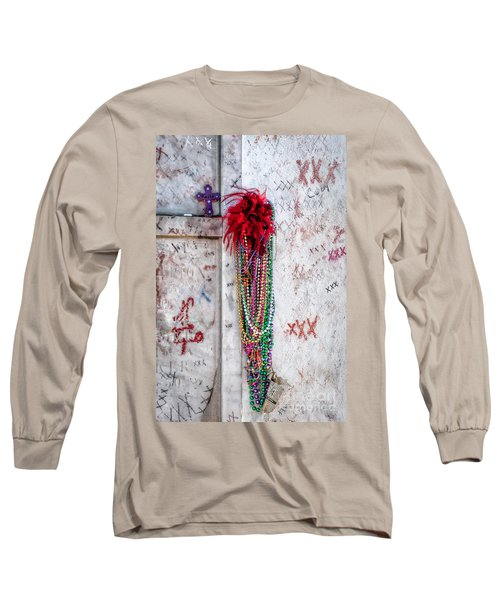 Tomb Of Marie Laveau New Orleans Long Sleeve T-Shirt