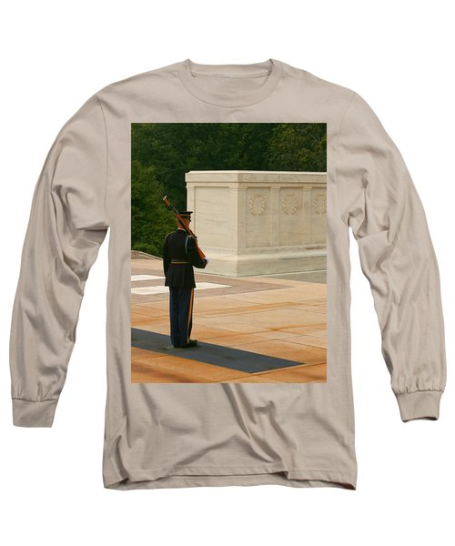 Tomb Of The Unknown Soldier Long Sleeve T-Shirt