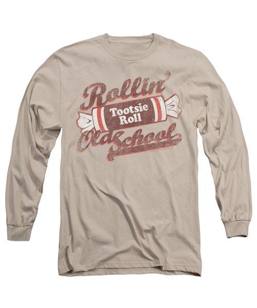 Tootsie Roll - Old School Long Sleeve T-Shirt