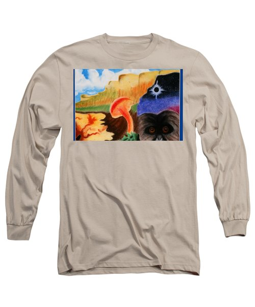 Total Eclispe                Long Sleeve T-Shirt
