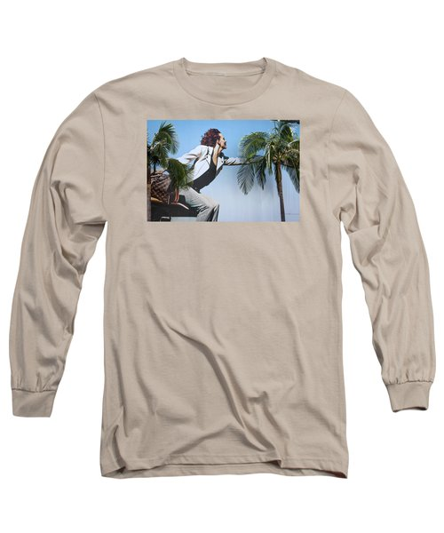 Touching The Canopy.  Long Sleeve T-Shirt by Menachem Ganon
