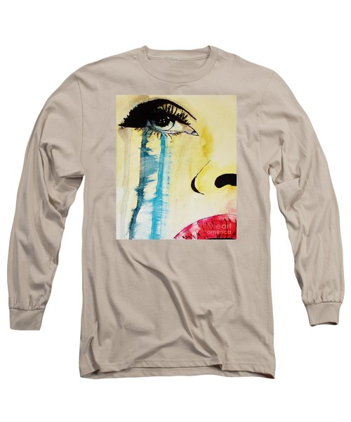 Long Sleeve T-Shirt featuring the painting Tougher Than You Think 2 by Michael Cross