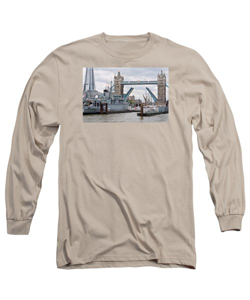 Tower Bridge Opens Long Sleeve T-Shirt