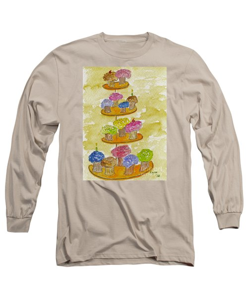 Tower Of Treats Long Sleeve T-Shirt