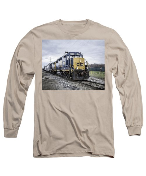 Train Engine 2668 Long Sleeve T-Shirt