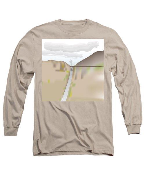 Train Landscape Long Sleeve T-Shirt