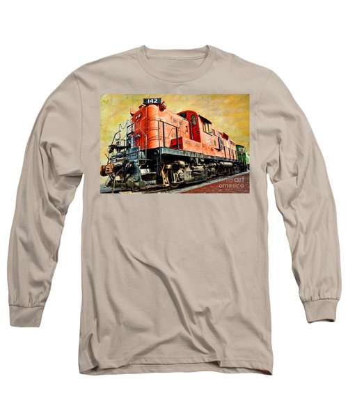 Train - Mkt 142 - Rs3m Emd Repowered Alco Long Sleeve T-Shirt
