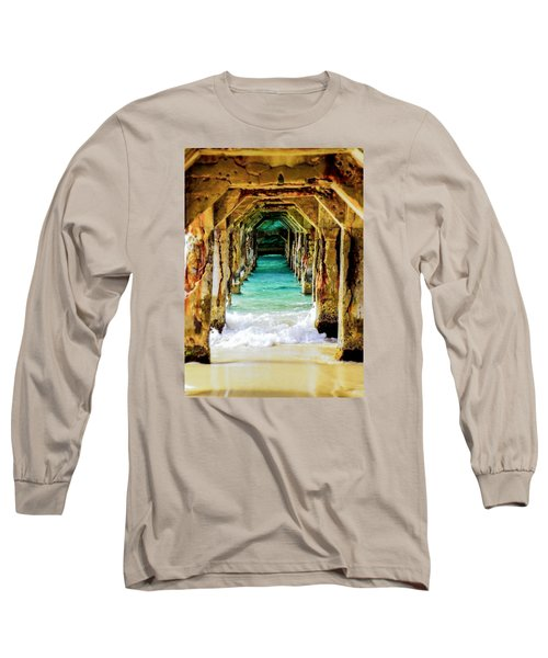 Tranquility Below Long Sleeve T-Shirt by Karen Wiles