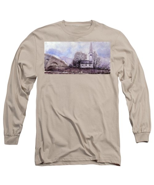 Tranquility Long Sleeve T-Shirt by Jasna Dragun